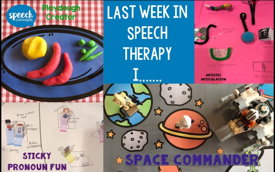 What happened in therapy last week?