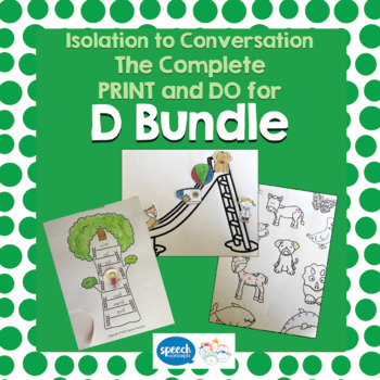 Articulation - Isolation to Conversation - D Bundle