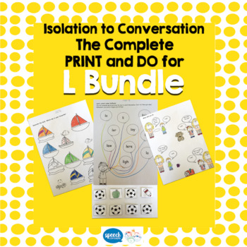 Articulation - Isolation to Conversation - L Bundle