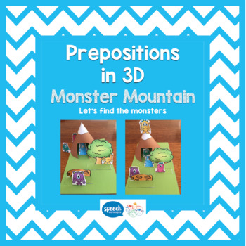 Prepositions - Monster Mountain 3D