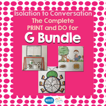 Articulation - Isolation to Conversation - G Bundle