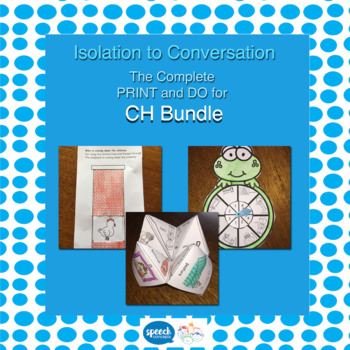 Articulation - Isolation to Conversation - CH Bundle