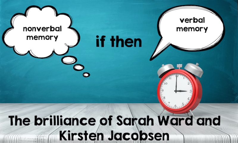 The brilliance of Sarah Ward and Kristen Jacobsen